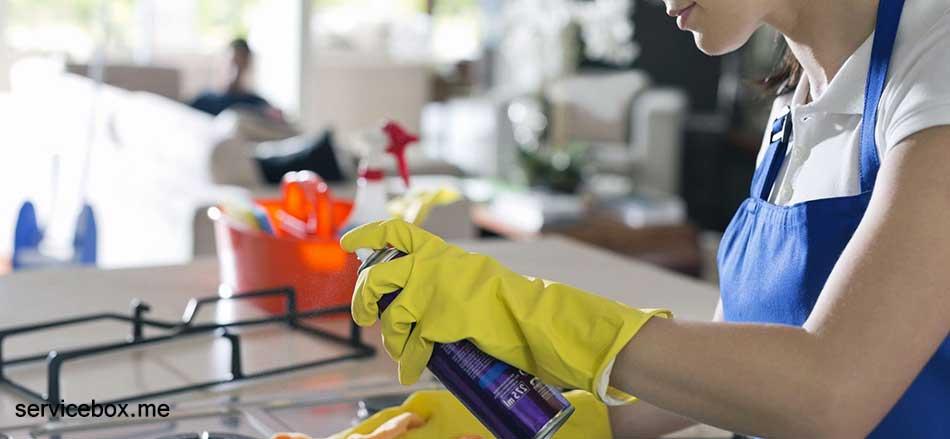 هزینه نظافت منزل توسط نیروی خانم در تهران