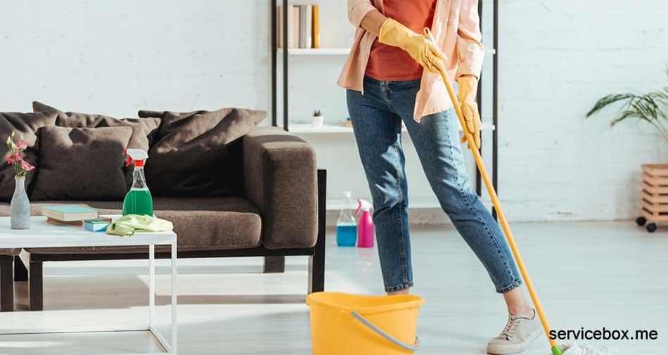 کارگر خانم برای نظافت منزل در تهران